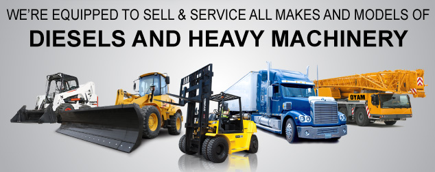 Heavy Equipment and Diesel Engine Truck Service or Repair
